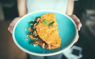 Омлет диетический рецепт на сковороде